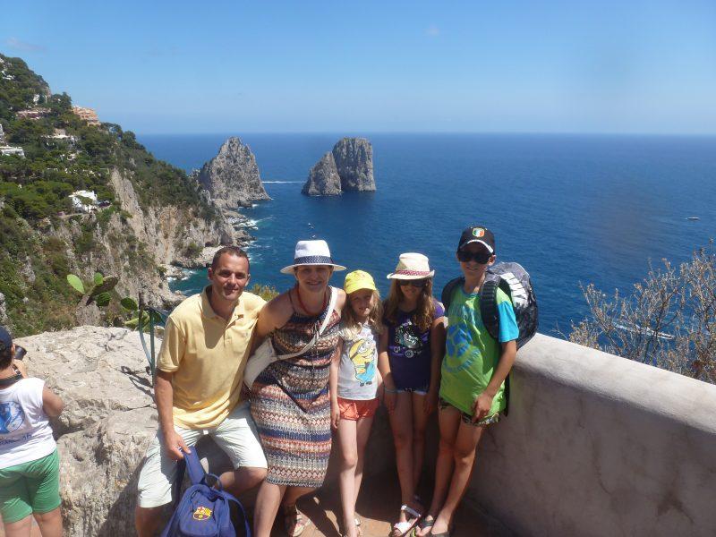 Napulj, Pompeji, Vezuv, Capri…